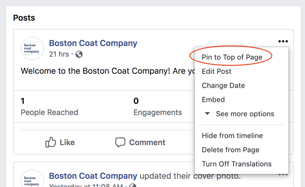 facebook-marketing-pin-post-to-page