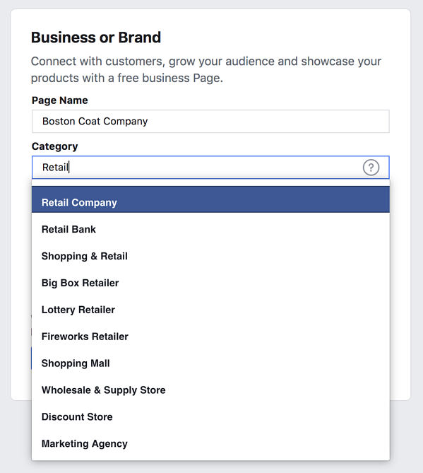 facebook-marketing-page-name-and-category