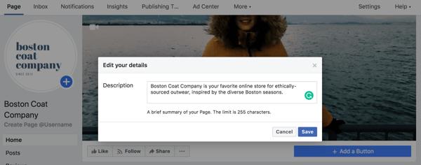 facebook-marketing-page-description
