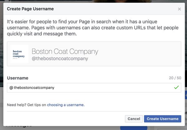facebook-marketing-page-username