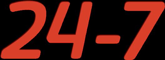 株式会社24-7ロゴ